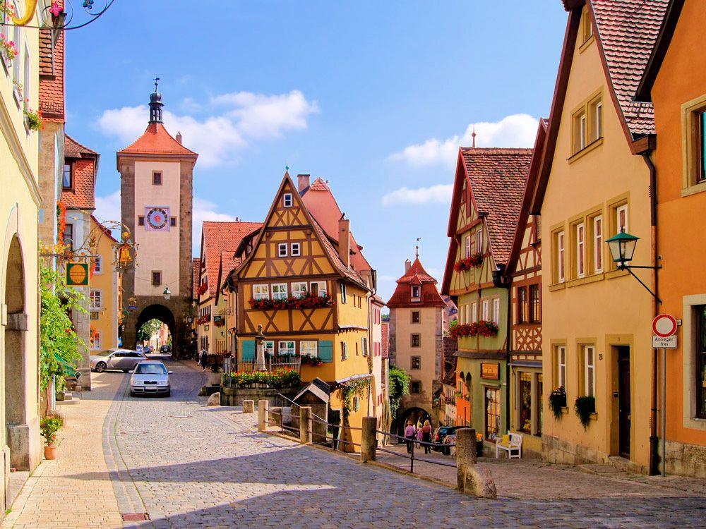Летние каникулы в Германии!
